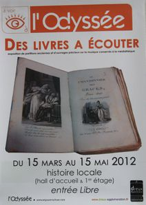 Odysee musique 17 mars 2012 affiche
