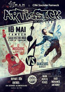Battle Artisstick Fameck 18 mai
