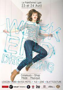 weekend dressing flyer