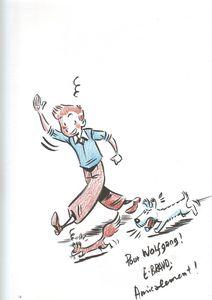 Bravo Spirou Hommage de Tintin