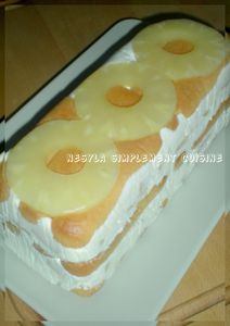 cake froid ananas