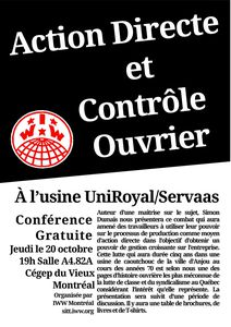 Controle ouvrier - Montreal