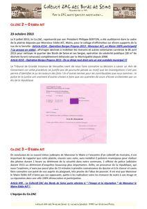 #182 COZAC - Cozac 3 - Mairie 0 vdef 2 p2