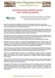 #187 COZAC - 5 ans de régime sur la ZAC des Bords de Seine