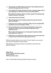 CROISETTE - Courrier LRAR - Conseil Général des -copie-1