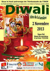 AFFICHE DIWALI 2013-2