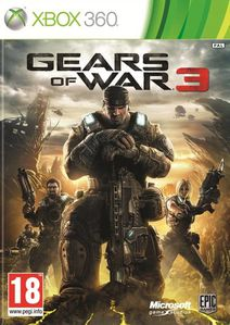 gear of wars 3 jaquette