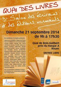 affiche quais de Rouen 2014