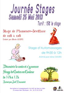 affiche stages
