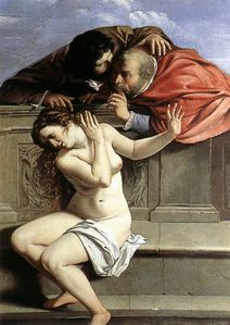 'Artemisia Gentileschi (1593-1654) Susanna and the Elders
