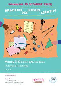 Braderie des Loisirs Créatifs - Mouxy le 14 octobre