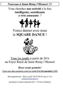 srh Flyer-Square-Dance association