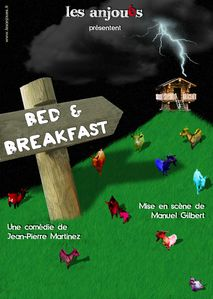 B&amp;B affiche vierge