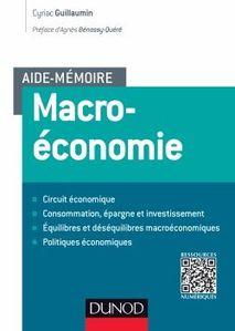 « Aide-mémoire de Macroéconomie » de Cyriac Guillaumin