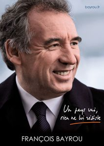 Affiche Bayrou 2012