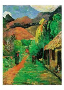 chemin a papeete Gauguin