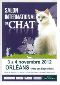 salon international chat orléans 2012