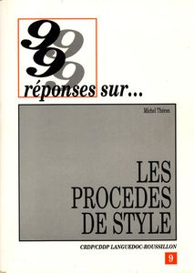 Couverture de 99 rponses sur les procds de style