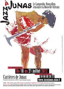 affiche jazz a junas 2012