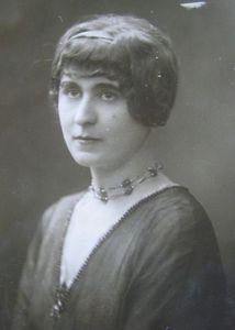 Portrait de Marie-Louise Dromart-Grès