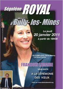affiche SR à Bully-les-Mines