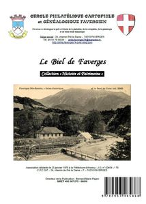 Le Biel de Faverges - 30 pages couleurs