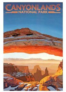 canyonlands affiche