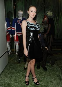 dakota fanning at prada celebration NYC 1