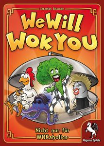We Will Wok You -boite jeu