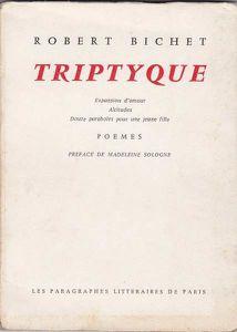 Triptyque - Paragraphes littéraires de Paris (1970)