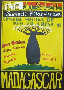 affiche corrigée Madagascar
