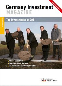 Germany investment magazine - top invt 2011 - cover
