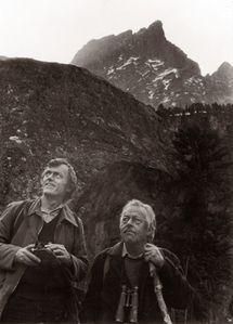 Michel Terrasse et Robert Hainard, Ossau, 1981 [1600x1200]