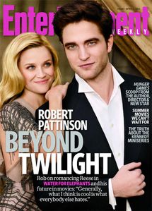Robert Pattinson + Reese Witherspoon - EW Cover