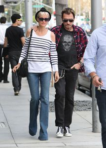 Johnny Hallyday et Laeticia Shopping à Beverly Hills n6