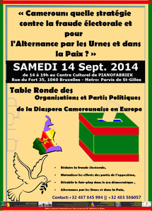 affiche-Table ronde sur les elections du 30 septembre 2013