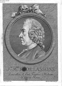 Joseph Marie Franois de Lassone, 1770