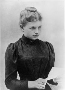 Clara Immerwahr - one of the first women to get her PhD. Ki