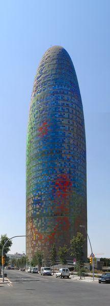 La tour Agbar - Barcelone - Jean Nouvel (2003)