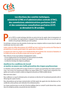 SYNTEF-CFDT Tract adm centrale election