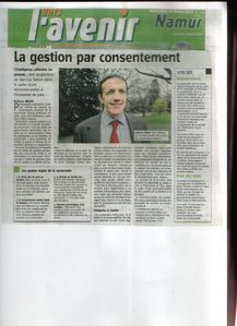 Article Vers l'avenir