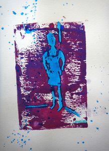 Atelier de Flo Ardennes Linogravure Encre 11