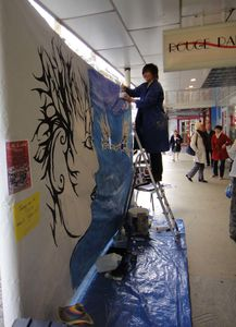 Artiste Peintre Ardennes Fresque Performance 3