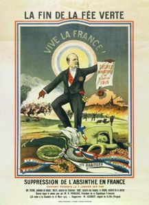 absinthe affiche interdiction 1915