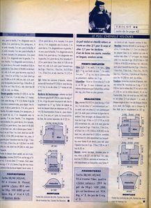 100 idées n° 161 - explications du cardigan 2