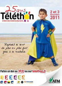 affiches telethon 2011