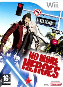 No More Heroes jaquette