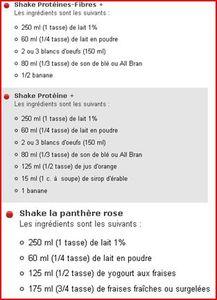 shake protéine