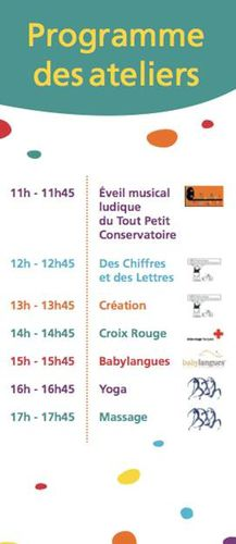 Liste ateliers pampers
