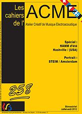 Couverture Cahiers ACME 258